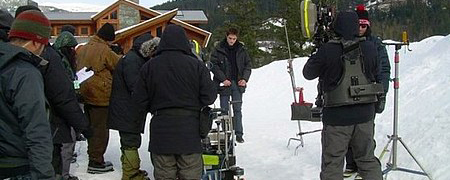 Foto+de+Robert+Pattinson+en+el+set+de+