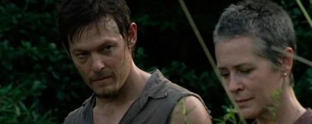 Carol y Daryl, ¿romance a la vista?