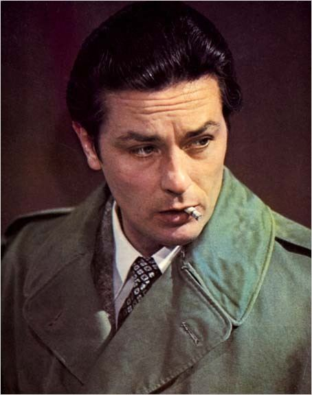 foto Alain Delon, Jacques Deray