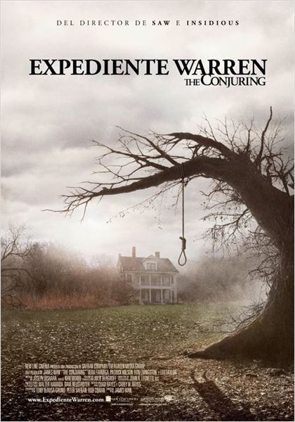 Expediente Warren: The Conjuring : cartel