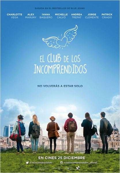 El club de los incomprendidos : Cartel