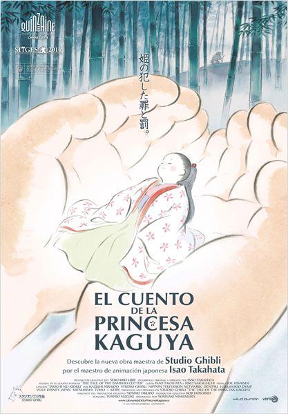 El cuento de la princesa Kaguya - Cartel