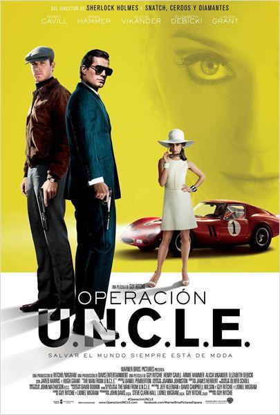 Operación U.N.C.L.E. - Cartel