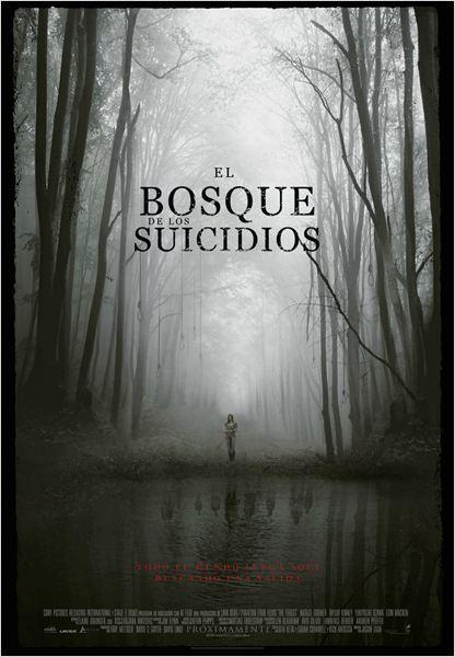 El bosque de los suicidios : Cartel
